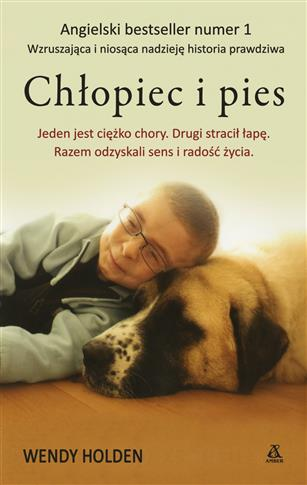 Chłopiec i pies Amber outlet