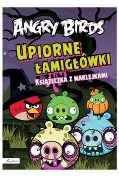 Angry Birds Upiorne łamigłówki z naklejkami br Pap