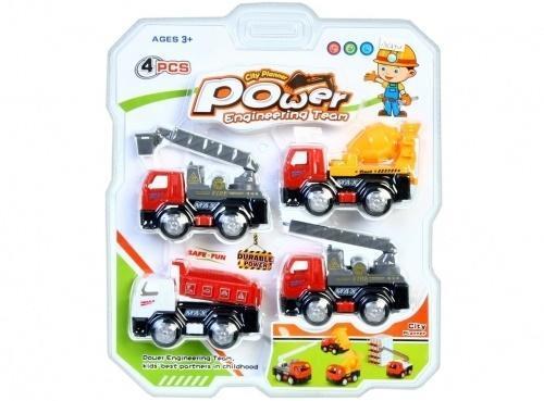 Auto ciężarowe 11cm 4el