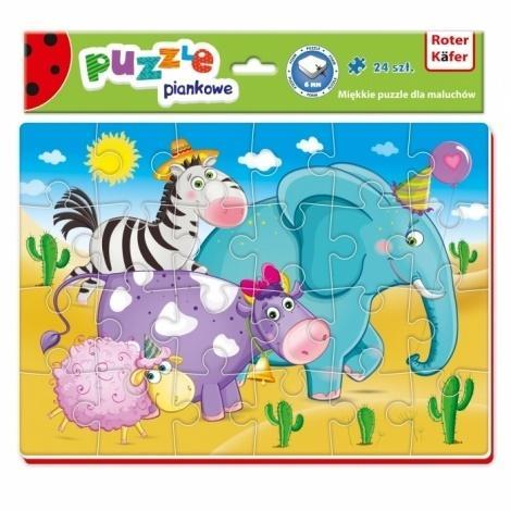 Miękkie puzzle A4 Śmieszne zdjęcia Podróż zwierząt