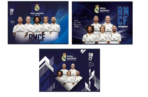 Blok rysunkowy A4/20K Real Madrid 5 (10szt)