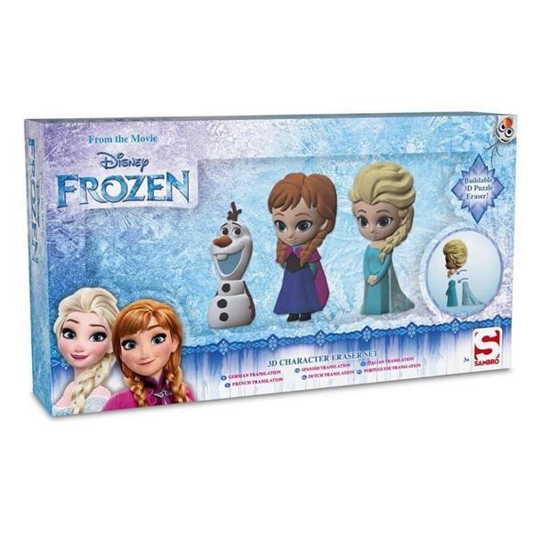 Figurki - gumki do mazania Frozen 3/PAK