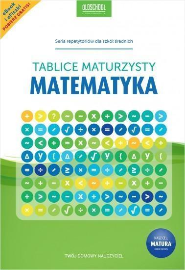 MATEMATYKA TABLICE MATURZYSTY OUTLET