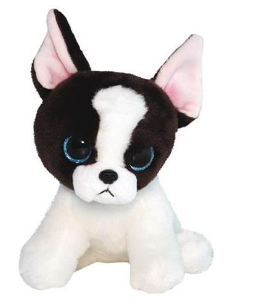 Beanie Boos - Brązowo - Biały Terrier 15 cm