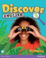 Discover English 3 WB +CD PEARSON