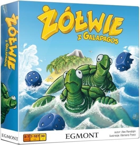 Żółwie z Galapagos gra planszowa OUTLET