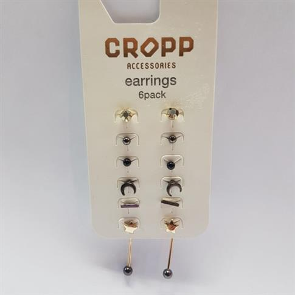 ZESTAW 6 par kolczyków CROPP-25729