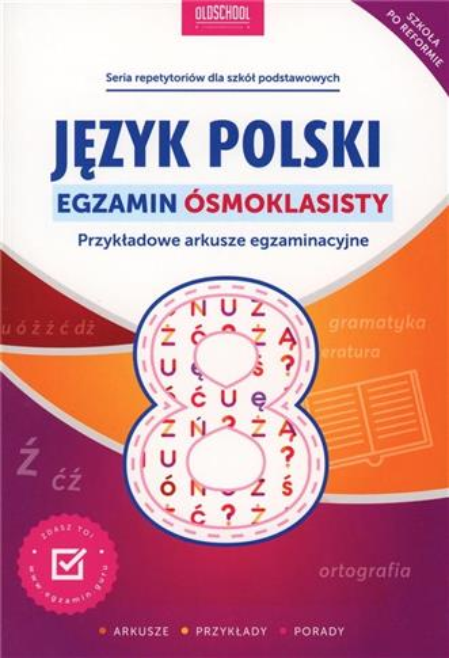 JĘZYK POLSKI EGZAMIN ÓSMOKLASISTY outlet-16145