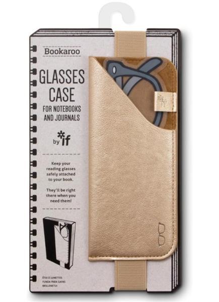 Bookaroo Glasses case Uchwyt na okulary złoty