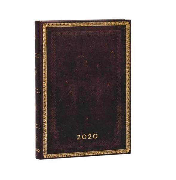 Kalendarz książkowy midi 2020 12M hor. Moroccan
