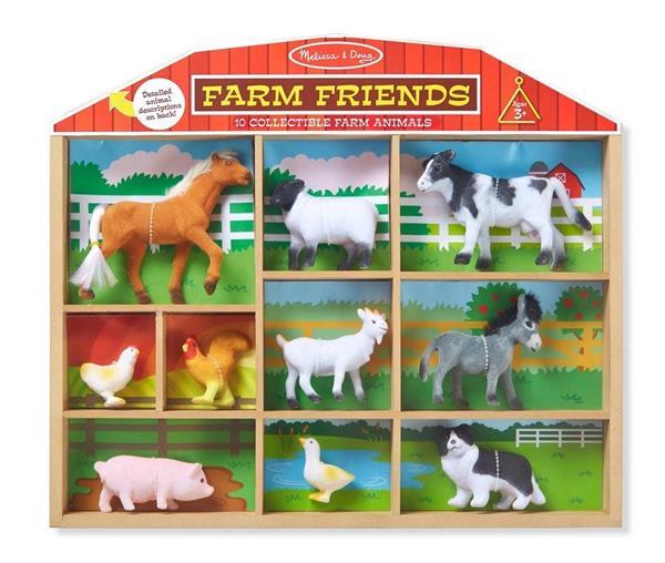 Figurki zwierząt Farma