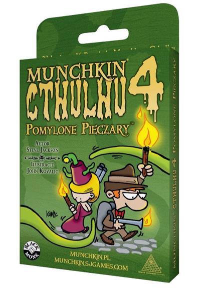 Munchkin Cthulhu 4 Pomylone pieczary BLACK MONK