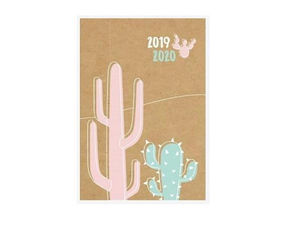 Kalendarz tygodniowy B6 2019-2020 Kaktus ALBI