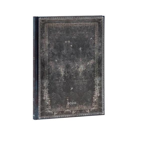 Kalendarz książkowy grande 2020 12M wer. Steel