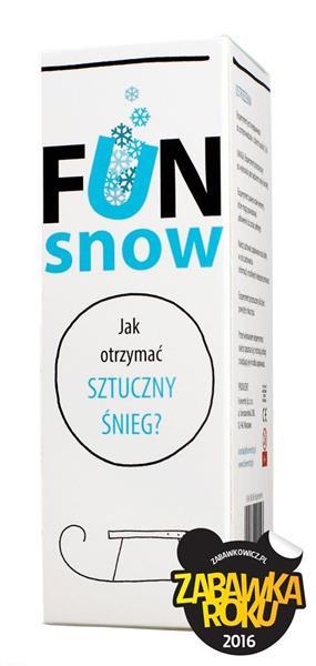 Mini eksperyment - FUN snow