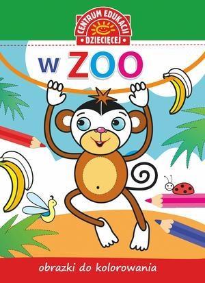 Obrazki do kolorowania. W Zoo