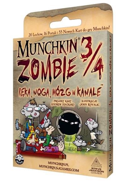 Munchkin Zombie 3/4 Ręka, Noga, Mózg w kanale