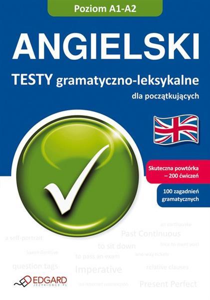 Angielski Testy gramatyczne A1-A2 outlet