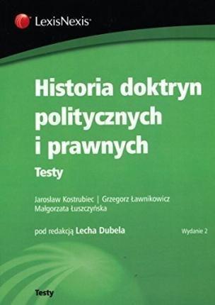 Historia doktryn politycznych i prawnych. Testy