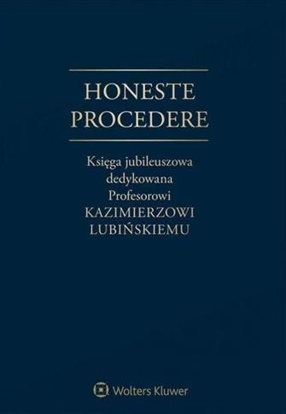 Honeste Procedere
