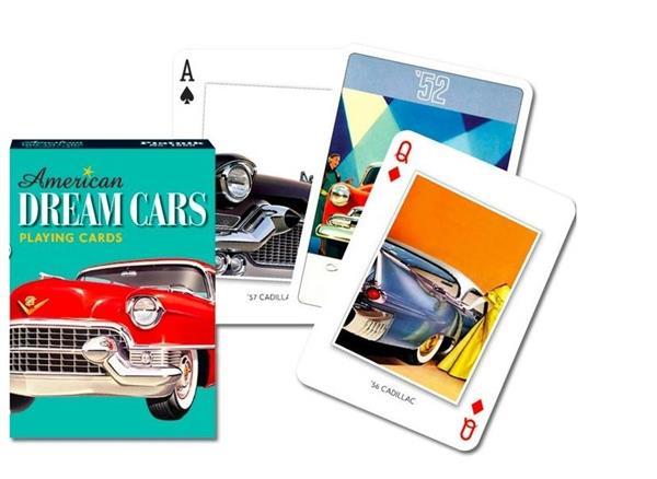 Karty poj. Amerykańskie Samochody Marzeń PIATNIK