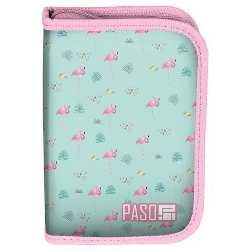 Piórnik b.w. Flamingi PPLF19-001BW PASO