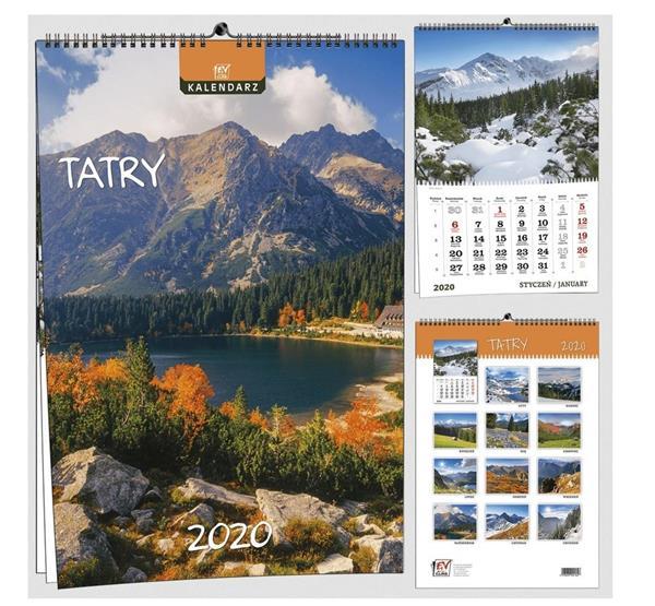 Kalendarz 2020 7 Plansz B3 - Tatry EV-CORP