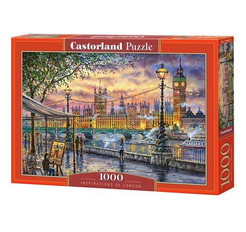 Puzzle 1000 Inspirations of London CASTOR