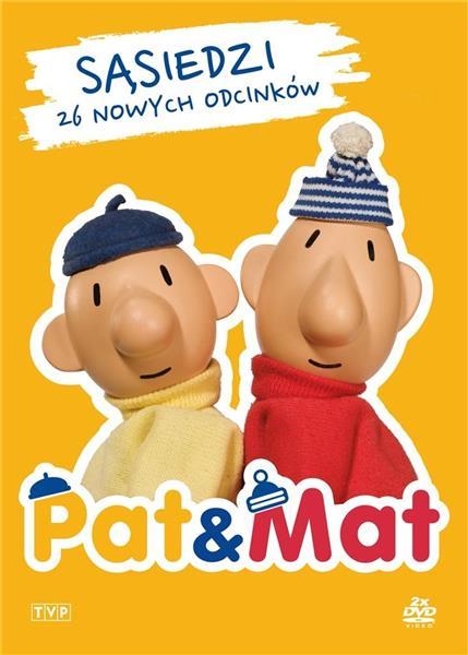 Sąsiedzi Pat i Mat (2 DVD)