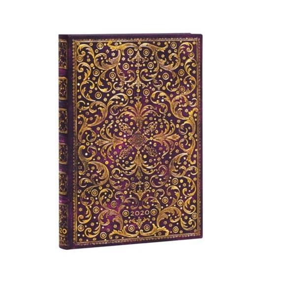 Kalendarz książkowy mini 2020 12M hor. Aurelia