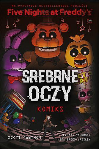 FIVE NIGHTS AT FREDDY S. SREBRNE OCZY