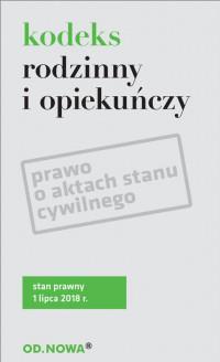 KODEKS RODZINNY I OPIEKUŃCZY PRAWO O outlet
