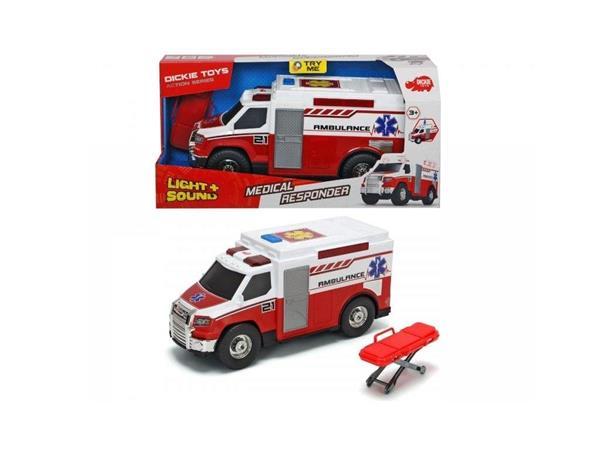 Ambulans czerwony 30cm