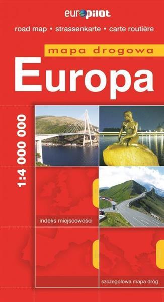 Mapa Drogowa EuroPilot. Europa br