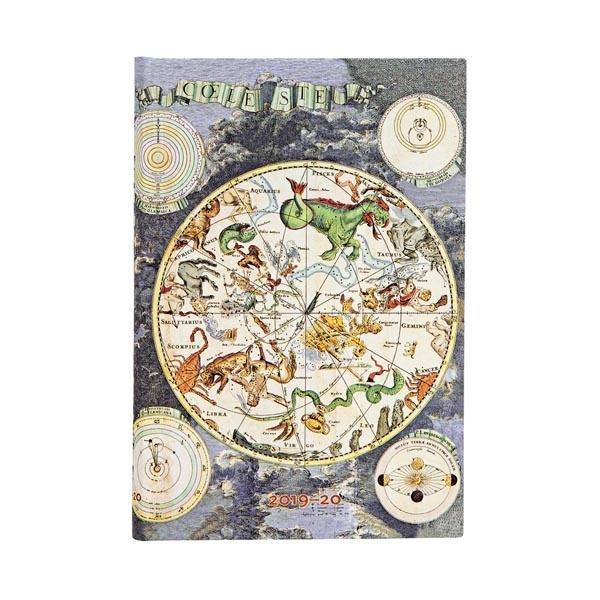 Kalendarz książkowy mini 2019-2020 Celestial Plan