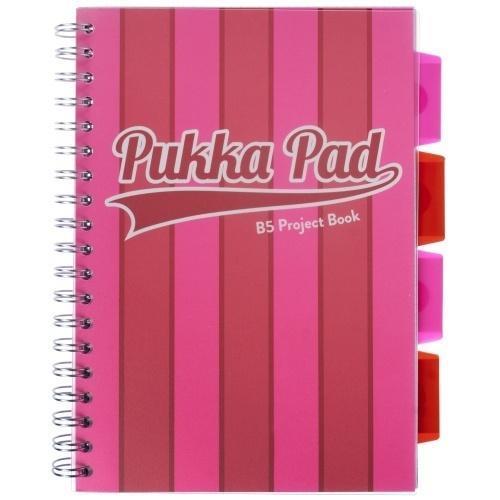 Project Book Vogue A4/100K kratka róż (3szt) PUKKA