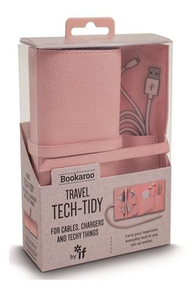 Bookaroo Travel Tech-Tidy Organizer podróżny róż
