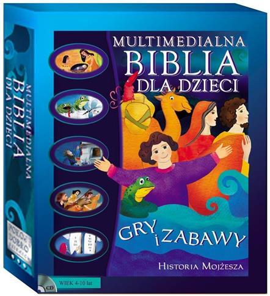Multimedialna Biblia dla Dzieci. Historia Mojżesza