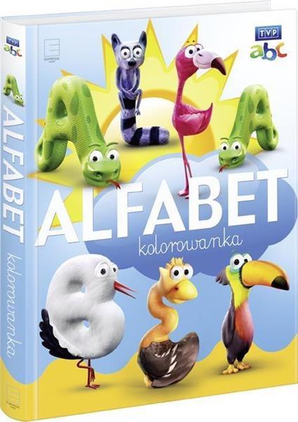 Alfabet kolorowanka TVP ABC