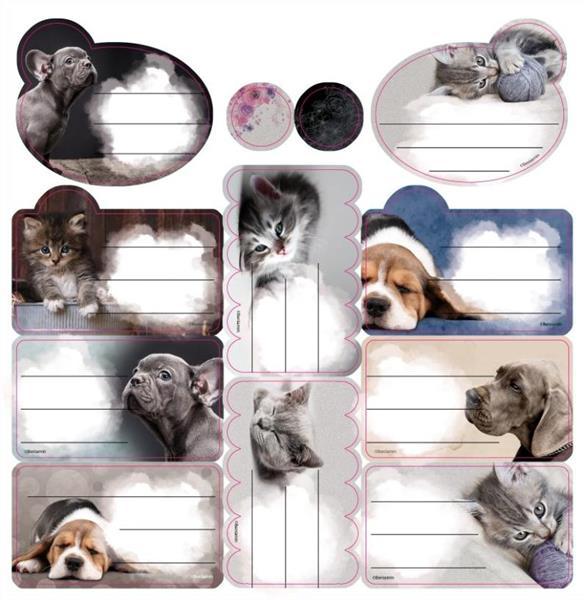 Naklejki na zeszyty The Sweet Pets