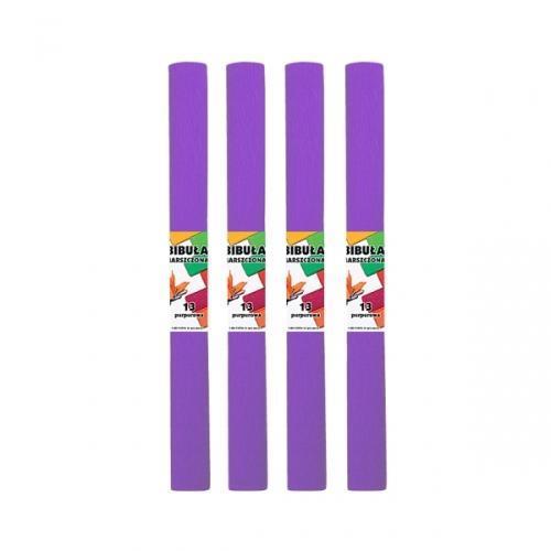 Bibuła marszczona 13 purpurowa (10szt)