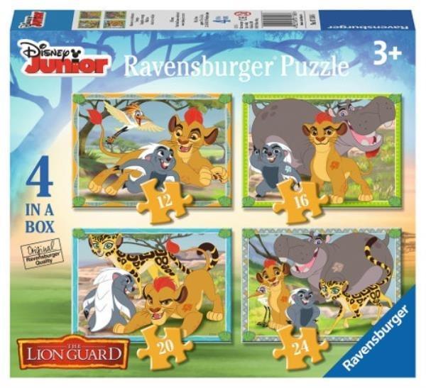 Puzzle 4w1 Lwia Straż