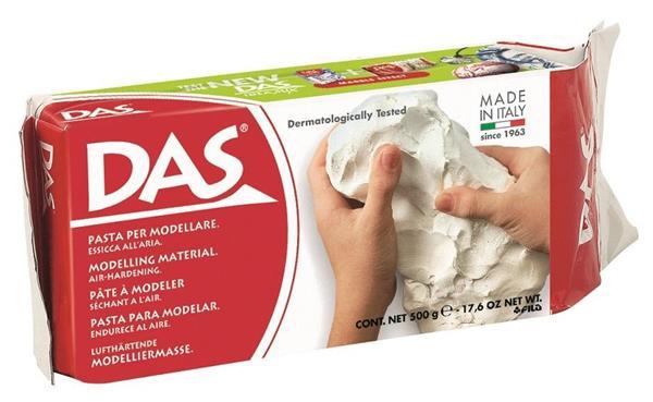 Glinka biała 0,5kg Das
