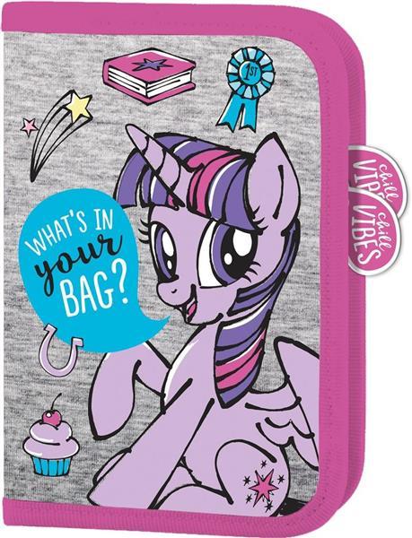 Piórnik dwuklapkowy bez wypos. My Little Pony IV