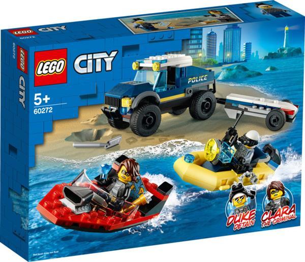 LEGO Transport łodzi policji specjalnej