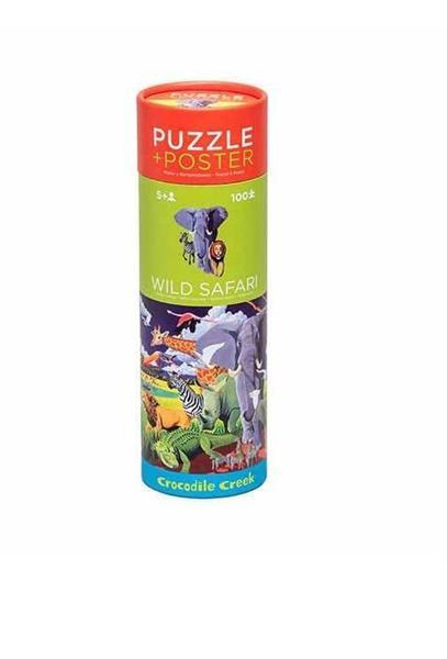 Puzzle 100 tuba Dzikie safari