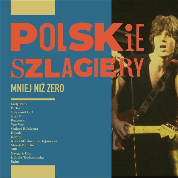 Polskie szlagiery. Mniej niż zero CD