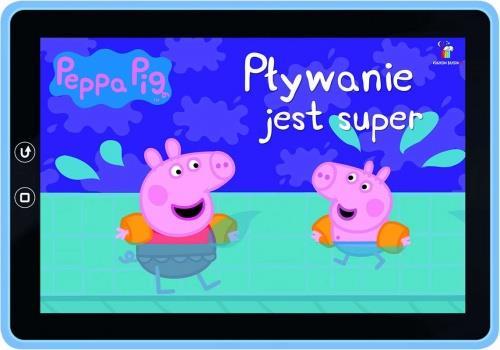 Peppa Pig. Książeczki bajeczki nr 2.Pływanie outle