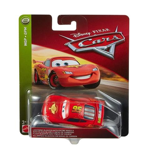 Auta. Lightning McQueen with Racing Wheels