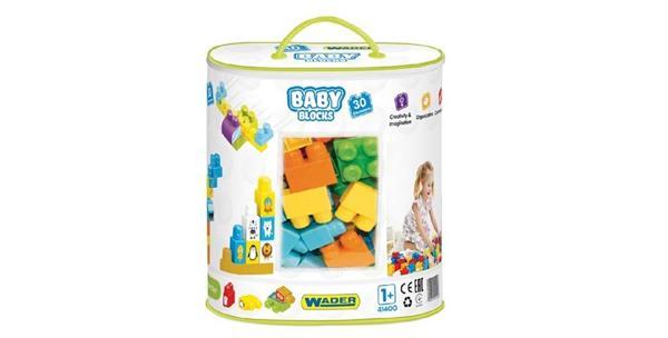 Baby blocks - Torba 30 elementów